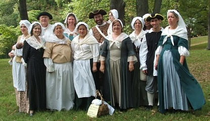 The entire Colonial Revelers ensemble.