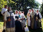 The dedicated singers of Colonial Revelers bring old songs to life.